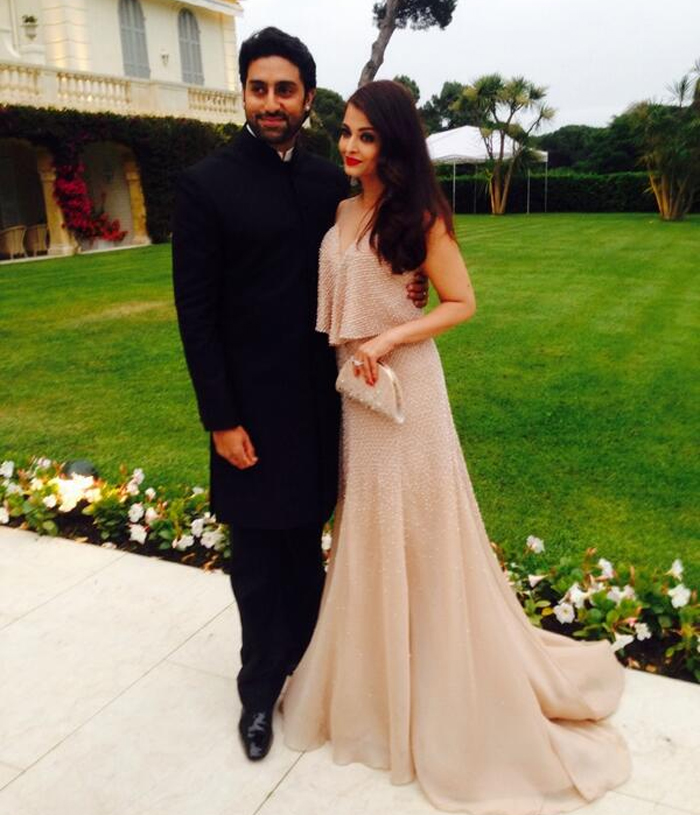 14may CannesAbhiAish amFAR04 Abhishek and Aishwarya at amfARs 21st Cinema Against AIDS Gala in Cannes 2014