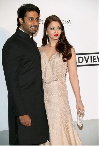 14may CannesAbhiAish amFAR13 Abhishek and Aishwarya at amfARs 21st Cinema Against AIDS Gala in Cannes 2014