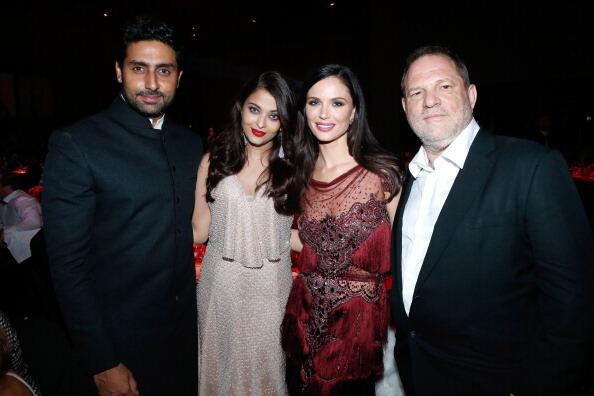 14may CannesAbhiAish amFAR17 Abhishek and Aishwarya at amfARs 21st Cinema Against AIDS Gala in Cannes 2014