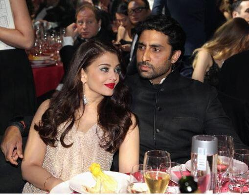 14may CannesAbhiAish amFAR19 Abhishek and Aishwarya at amfARs 21st Cinema Against AIDS Gala in Cannes 2014