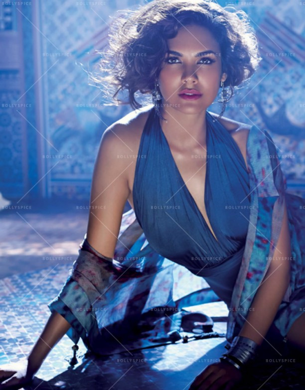 14may EshaGupta Elle May07 612x783 Esha Guptas photoshoot for the May 2014 edition of the ELLE India magazine!