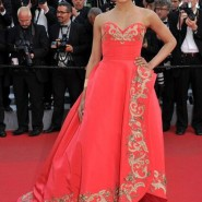 14may FreidaPintoCannes02 185x185 Cannes Update: Freida Pintos red carpet looks
