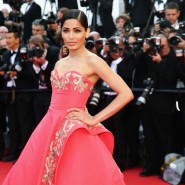 14may FreidaPintoCannes04 185x185 Cannes Update: Freida Pintos red carpet looks