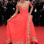 14may FreidaPintoCannes05 185x185 Cannes Update: Freida Pintos red carpet looks