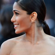 14may FreidaPintoCannes07 185x185 Cannes Update: Freida Pintos red carpet looks