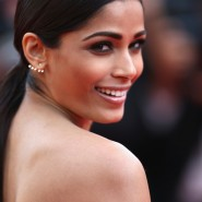 14may FreidaPintoCannes09 185x185 Cannes Update: Freida Pintos red carpet looks
