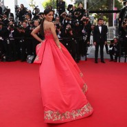 14may FreidaPintoCannes13 185x185 Cannes Update: Freida Pintos red carpet looks
