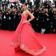 14may FreidaPintoCannes16 185x185 Cannes Update: Freida Pintos red carpet looks