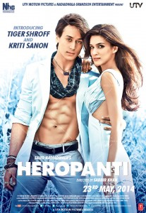 14may Heropanti Poster05 207x300 Box Office   Heropanti is third success in a row for Sajid Nadiadwala