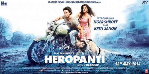 14may Heropanti newposter 612x306 New Poster released for Heropanti