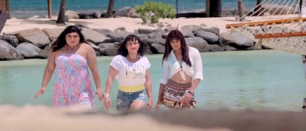14may Humshakals TeamSaif 612x263 Meet the hot ladies from HUMSHAKALS