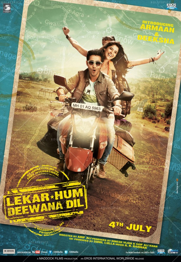 14may LHDD Poster01 612x883 Lekar Hum Deewana Dil Movie Review