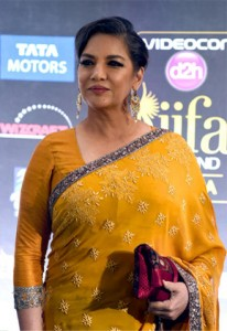 14may ShabanaAzmiEmporementIIFA 206x300 Shabana Azmi advocates women empowerment at the IIFA Awards