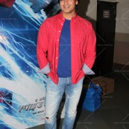 14may VivekSpidermanCancerScreening01 185x185 Vivek Oberoi at the screening of the Amazing Spider Man 2 for cancer patients