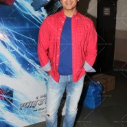 14may VivekSpidermanCancerScreening03 185x185 Vivek Oberoi at the screening of the Amazing Spider Man 2 for cancer patients