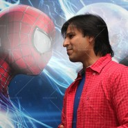 14may VivekSpidermanCancerScreening04 185x185 Vivek Oberoi at the screening of the Amazing Spider Man 2 for cancer patients