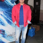 14may VivekSpidermanCancerScreening05 185x185 Vivek Oberoi at the screening of the Amazing Spider Man 2 for cancer patients