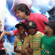 14may VivekSpidermanCancerScreening08 185x185 Vivek Oberoi at the screening of the Amazing Spider Man 2 for cancer patients