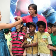 14may VivekSpidermanCancerScreening10 185x185 Vivek Oberoi at the screening of the Amazing Spider Man 2 for cancer patients