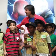 14may VivekSpidermanCancerScreening12 185x185 Vivek Oberoi at the screening of the Amazing Spider Man 2 for cancer patients