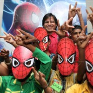 14may VivekSpidermanCancerScreening15 185x185 Vivek Oberoi at the screening of the Amazing Spider Man 2 for cancer patients