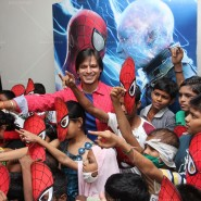 14may VivekSpidermanCancerScreening16 185x185 Vivek Oberoi at the screening of the Amazing Spider Man 2 for cancer patients