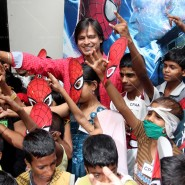 14may VivekSpidermanCancerScreening17 185x185 Vivek Oberoi at the screening of the Amazing Spider Man 2 for cancer patients