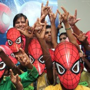 14may VivekSpidermanCancerScreening18 185x185 Vivek Oberoi at the screening of the Amazing Spider Man 2 for cancer patients