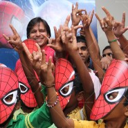 14may VivekSpidermanCancerScreening19 185x185 Vivek Oberoi at the screening of the Amazing Spider Man 2 for cancer patients