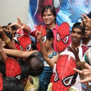 14may VivekSpidermanCancerScreening20 185x185 Vivek Oberoi at the screening of the Amazing Spider Man 2 for cancer patients