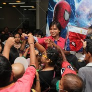 14may VivekSpidermanCancerScreening21 185x185 Vivek Oberoi at the screening of the Amazing Spider Man 2 for cancer patients