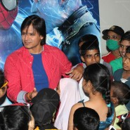 14may VivekSpidermanCancerScreening23 185x185 Vivek Oberoi at the screening of the Amazing Spider Man 2 for cancer patients