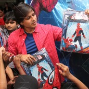 14may VivekSpidermanCancerScreening28 185x185 Vivek Oberoi at the screening of the Amazing Spider Man 2 for cancer patients