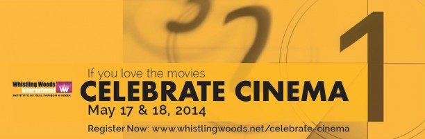 14may WWICelebrateCinema 612x201 Whistling Woods International to host 'Celebrate Cinema'