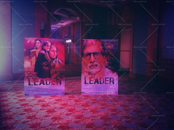14may leaderfirstlook 01 612x456 Amitabh Bachchan reveals First Look of the film LEADER