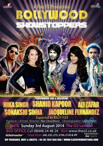 Bollywood Showstoppers 2014 Official Poster 213x300 The Countdown begins to the Bollywood Showstoppers 2014
