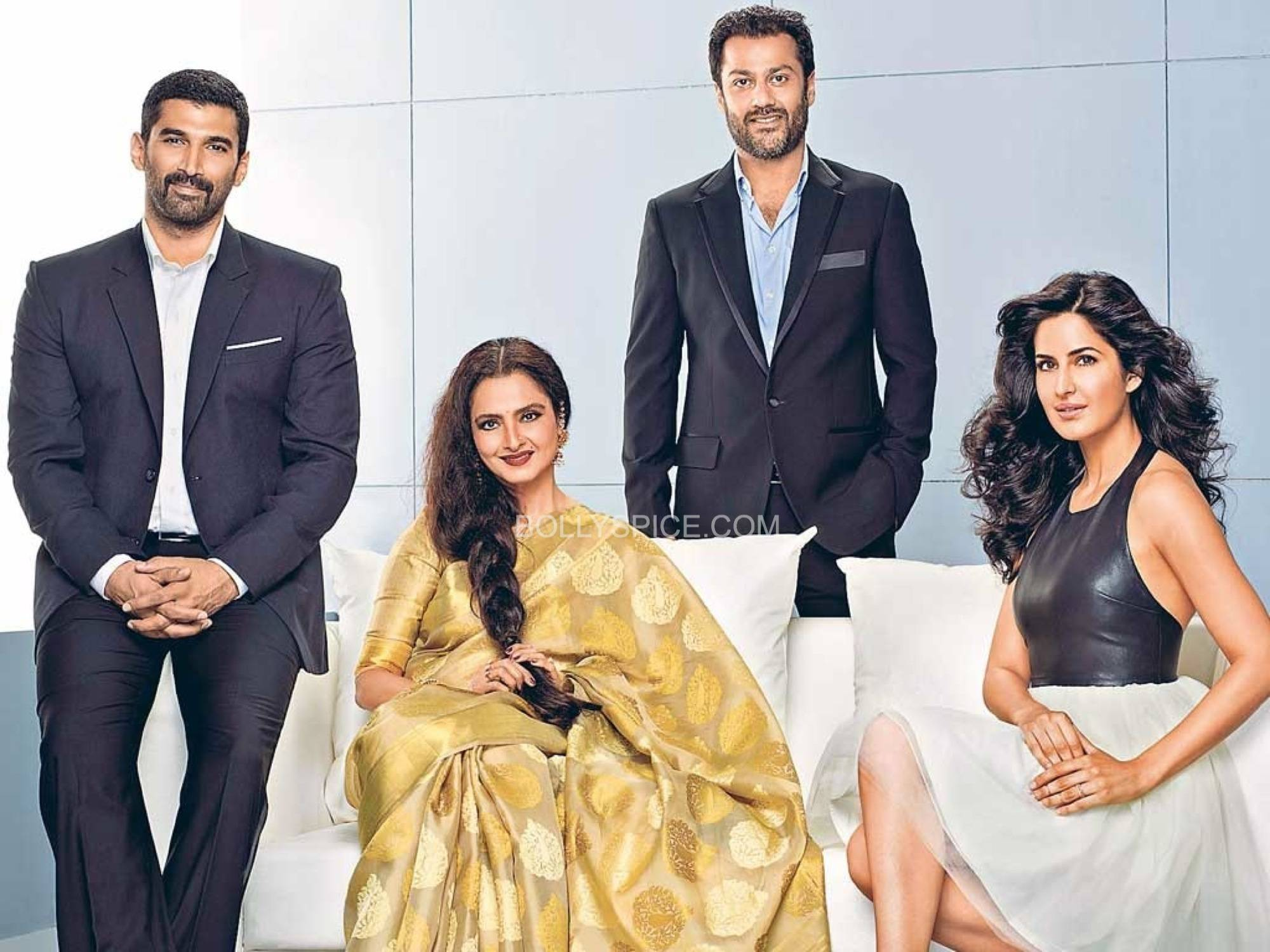 Fitoor cast image Rekha and Katrina Kaif to share screen space for the first time with Fitoor