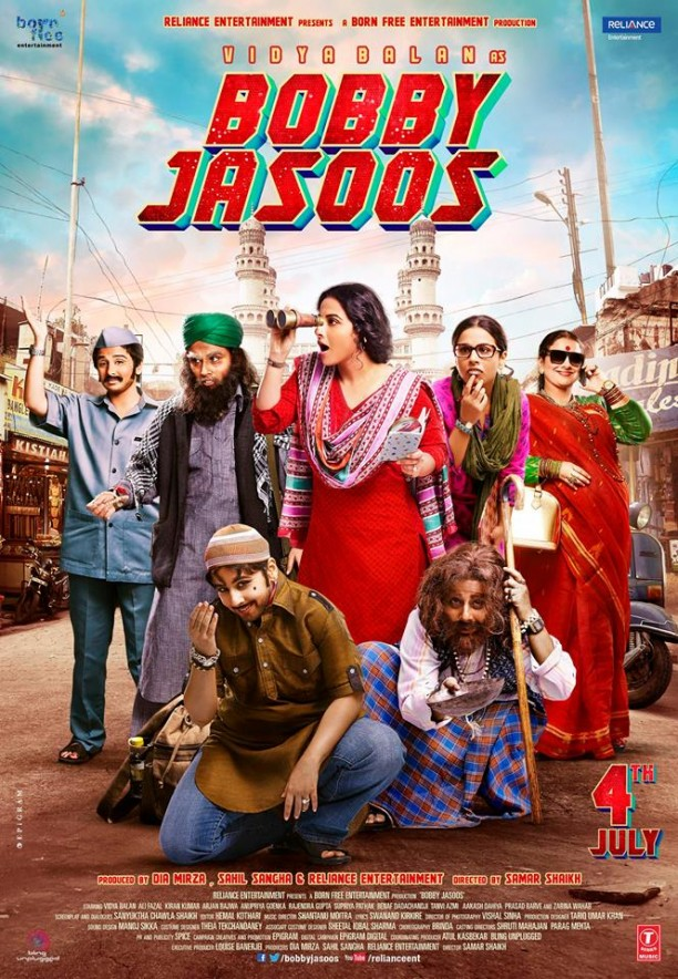 bobbyjasoosposter 612x884 Vidyas 122 looks for Bobby Jasoos!