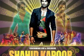 Win a chance to dance with Shahid Kapoor at the Bollywood Showstoppers concert