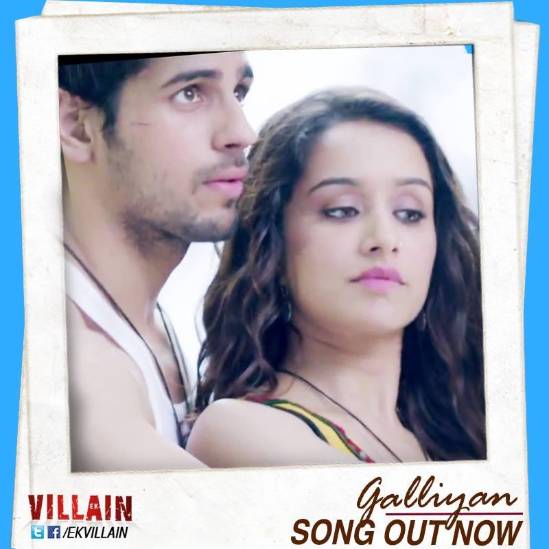 Making Of The Song Galliyan Ek Villain