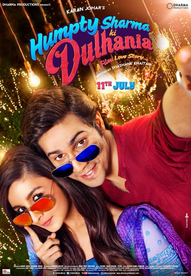 hskdposter01 612x884 Humpty Sharma Ki Dulhania Trailer Hits 1.7 Million views plus some pics and a synopsis!