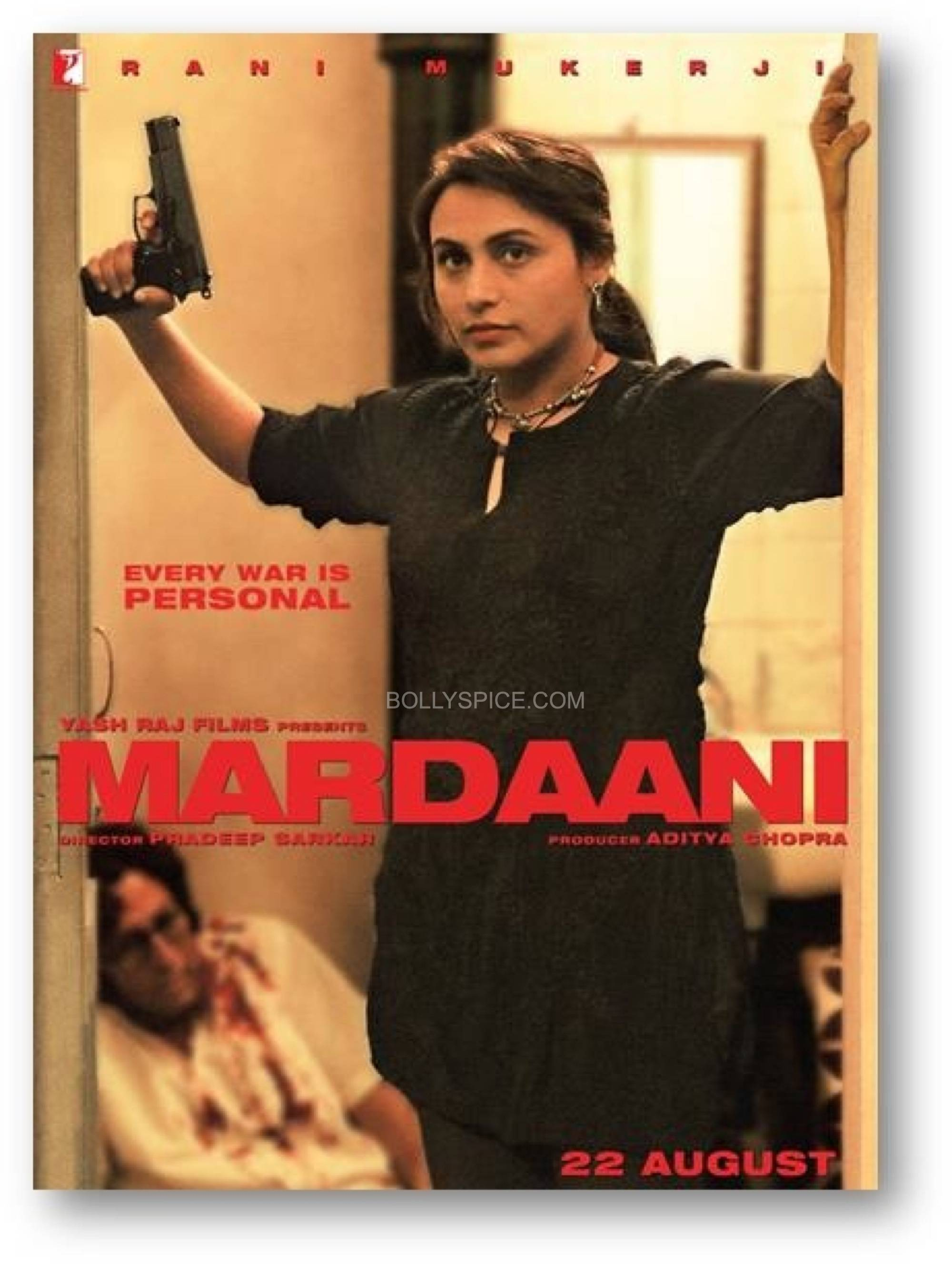 mardaaniposter First Look: Rani in Mardaani!
