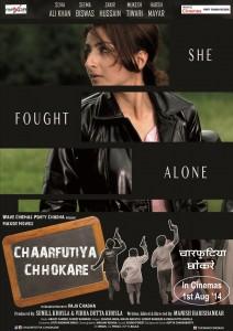 14jun ChaarfutiyaChhokare Poster01 212x300 Raj Kumar Santoshi launches promo of Chaarfutiya Chhokare