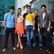 14jun FuglyKolkata01 185x185 Cast of Fugly promotes movie in Kolkata and Ahmedabad