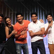 14jun FuglyMumbai04 185x185 Cast of Fugly attends SHIAMAK Summer Funk 2014