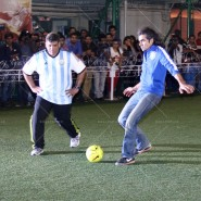 14jun RanbirArmaanFootballLHDD04 185x185 Cousins Armaan and Ranbir get the Football Fever