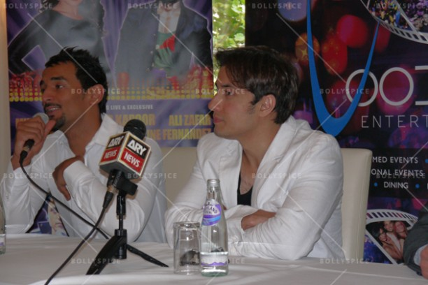 14jun alizafarshowstoppers 01 612x408 Bollywood Showstoppers Press Conference with Ali Zafar