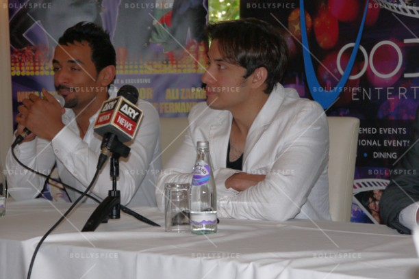 14jun alizafarshowstoppers 02 612x408 Bollywood Showstoppers Press Conference with Ali Zafar