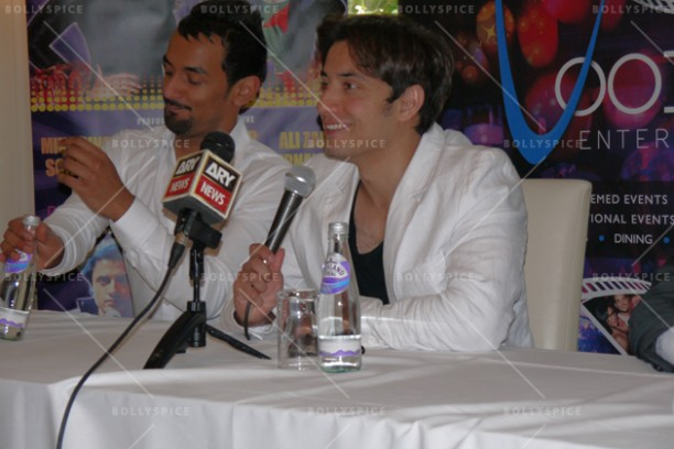 14jun alizafarshowstoppers 03 612x408 Bollywood Showstoppers Press Conference with Ali Zafar