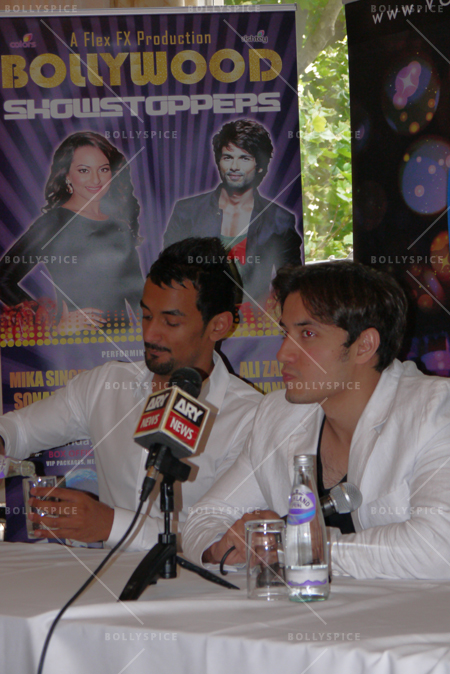 14jun alizafarshowstoppers 05 Bollywood Showstoppers Press Conference with Ali Zafar